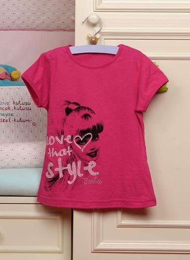Barbie Tişört Fuşya